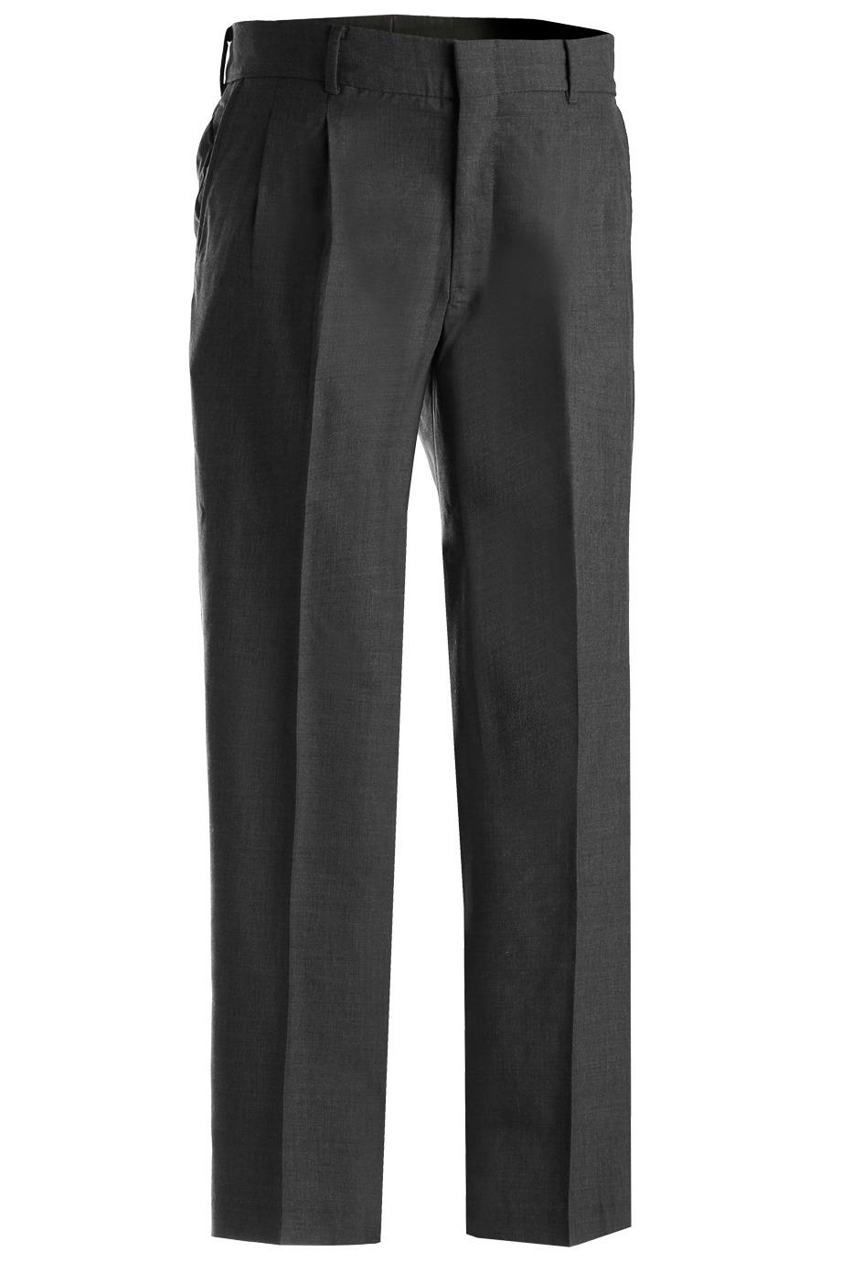 Edwards Garment Men's Lightweight Washable Pleated Dress Pant