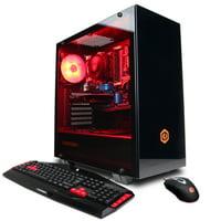 CYBERPOWERPC Gamer Master GMA1888W w/ AMD Ryzen 5 1400 3.2GHz, AMD Radeon R7 240 2GB, 8GB Memory, 1TB HD, WiFi and Windows 10 Home 64-bit Gaming PC