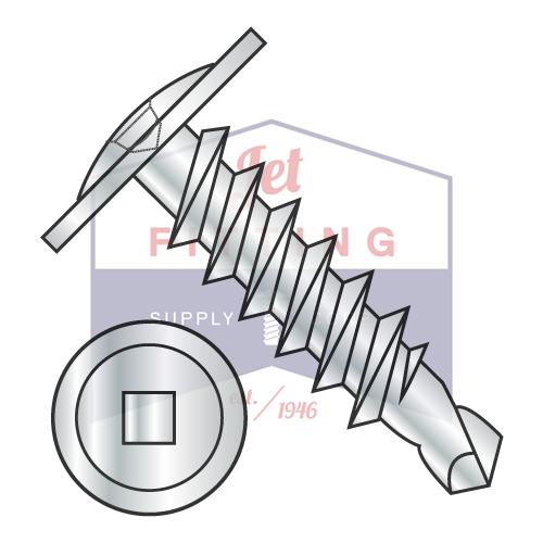 6-20X1 Self-Drilling Screws | Square | Modified Truss Hea...