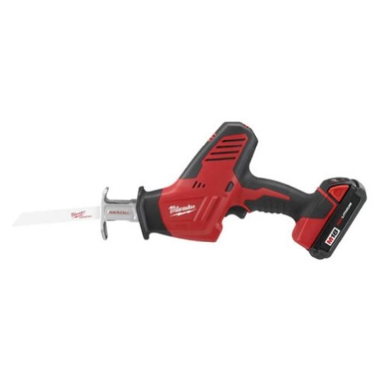 M18 18-Volt Hackzall Cordless One-Handed Reciprocating Saw Kit Milwaukee