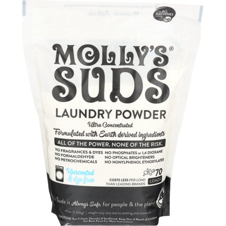 Molly S Suds Laundry Powder 70 Loads Unscented Walmart Com