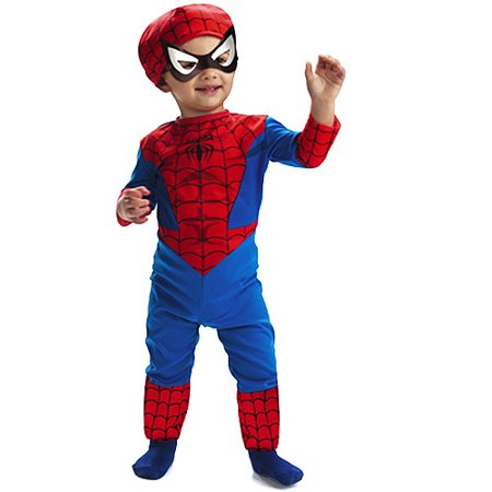 spiderman costume classic toddler boy - toddler 2t