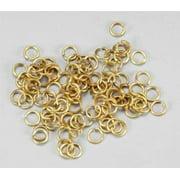 8619 Brass Rings 4mm (100)