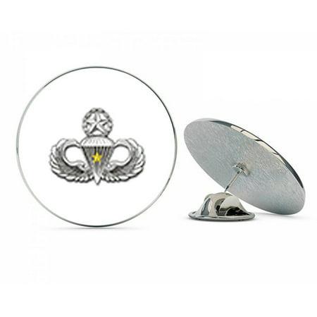 """US Army Master 5 Combat Jump Wings Metal 0.75"""" Lapel Hat Pin Tie Tack Pinback"""