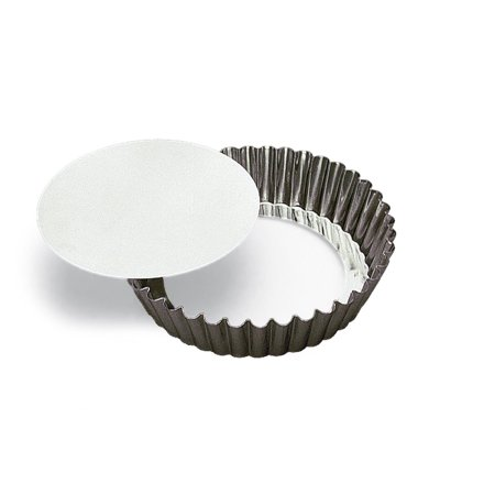 Fluted Deep Tart/Quiche Mold, Removable Bottom 10-inch Diameter by 2-inch Deep SCI