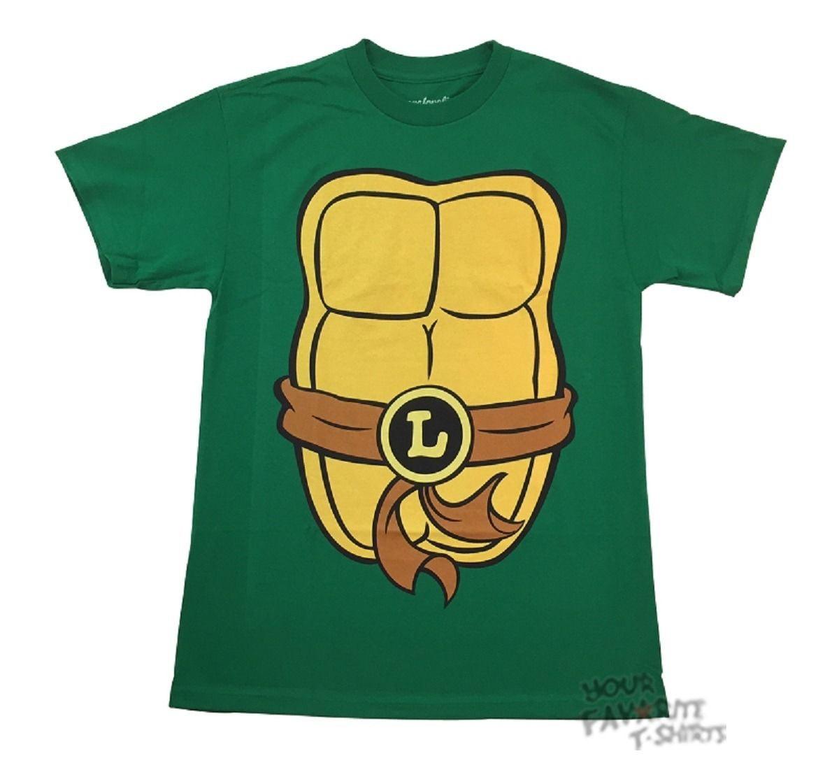 Briefly Stated Green Large L Men/'s Ninja Turtle Leonardo Adult Costume Pajama