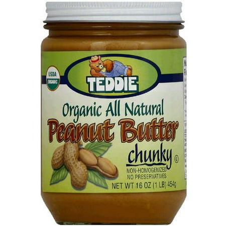 Organic natural peanut butter