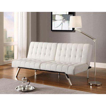 DHP Emily Convertible Futon Sofa Couch, Multiple Finishes - Walmart.com