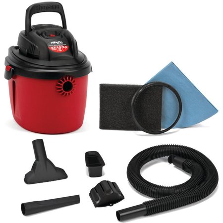 Hyper Tough 1 Gallon 1 5 Peak Hp Wet Dry Vacuum Brickseek