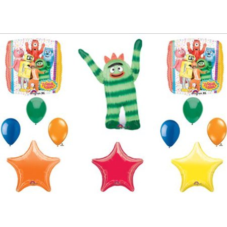 Yo Gabba Gabba BIRTHDAY PARTY Balloons Decorations Supplies](Yo Gabba Gabba Birthday Banner)