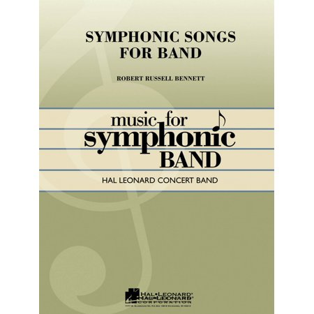 Hal Leonard Symphonic Songs for Band (Deluxe Edition) (Full Score) Concert Band Level 4 Arranged by George Ferencz