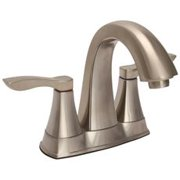Premier Waterfront Two Handle Lavatory Faucet, 1.5 Gpm, With 50/50 Popup, Chrome Finish