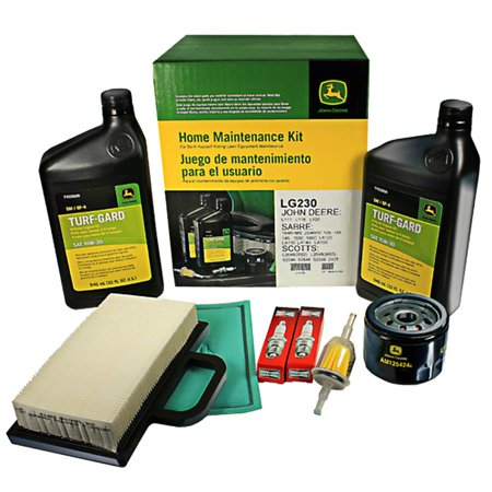 John Deere LG230 Home Maintenance Kit L111 L118 L120 LA120 LA130 LA140 (Parts For John Deere L120 Lawn Mower)