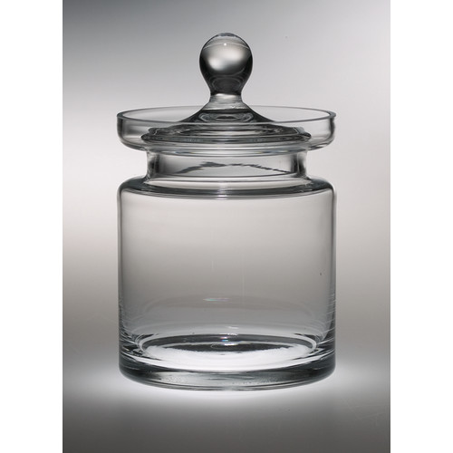 Majestic Crystal Classic Clear Cookie Jar
