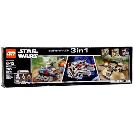 Star Wars Microfighters Super Pack 3 in 1 Set LEGO 66514 ()