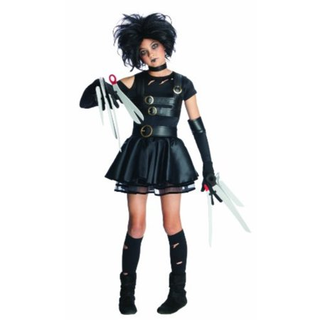 edward scissorhands miss scissorhands complete costume kit - tween small