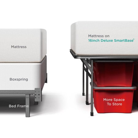 "Spa Sensations by Zinus 16"" SmartBase Deluxe Mattress Foundation, Twin"