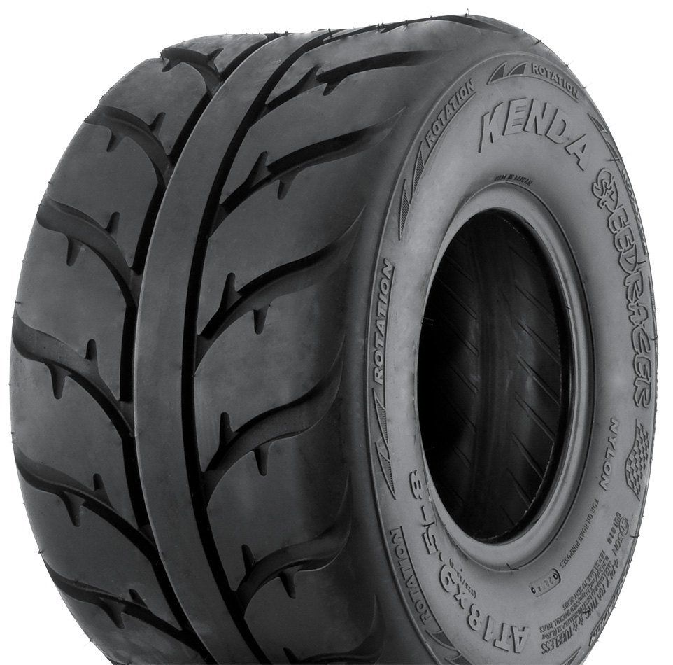 KENDA K547 Speed Racer 4-Ply Hard Terrain ATV Rear Tire 1...