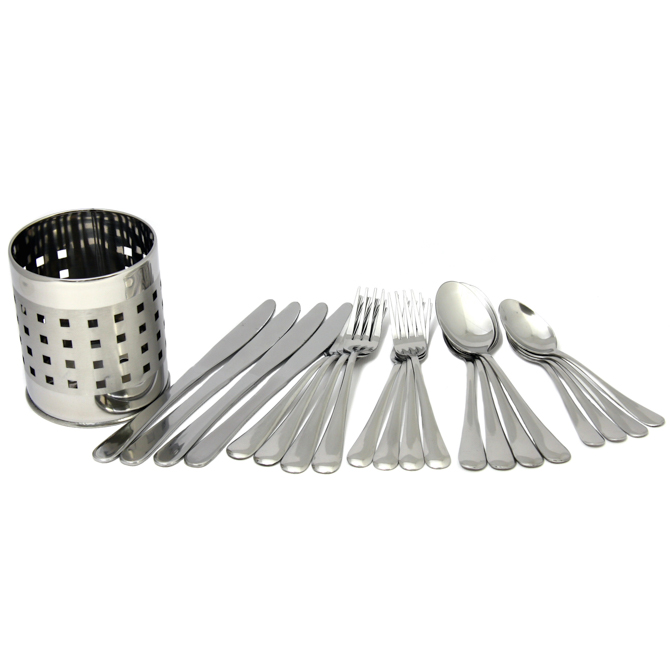 Chef Craft 20 Piece Flatware Set