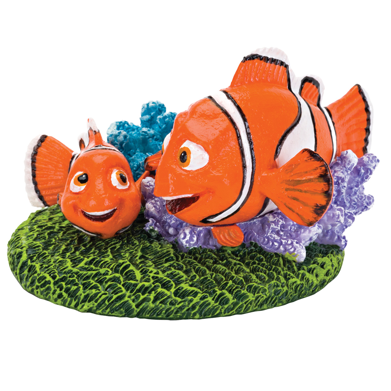 Penn Plax Finding Dory Nemo and Marlin with Coral - Medium