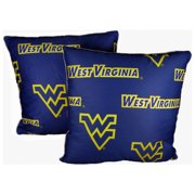 College Covers NCAA Kansas Decorative Cotton Throw Pillow (Set of 2)