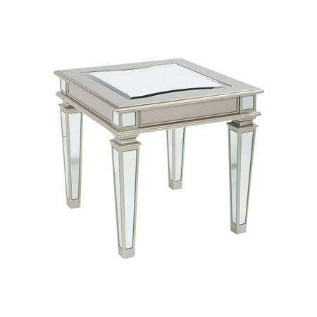Signature Design by Ashley Tessani Rectangular End Table Country Rectangular End Table