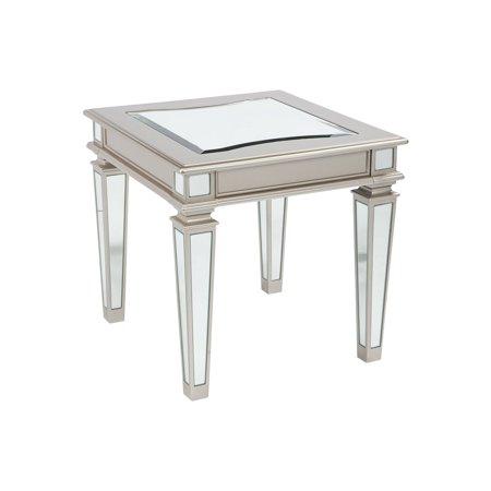 Tessani Rectangular End Table - Rectangular Extending Table