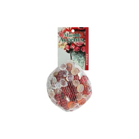 Panacea Decorative Glass Gems 12oz Cranberry (Decorative Glass Gems)