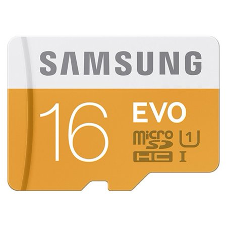 Samsung Evo 16GB Micro-SDHC MicroSD Memory Card High Speed Class 10 Compatible With Samsung Galaxy S5 Mini S4 Active (GT-i9295) S3, Prevail LTE Note 2 Mega SPH-L600 SGH-M819, J3 V, Express