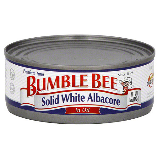 Bumble Bee Solid White Albacore Tuna In Oil, 5 oz  (Pack of 24)