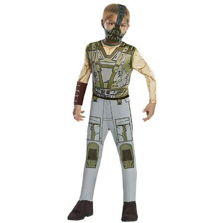 Batman Bane Jumpsuit & Mask Costume Child Medium 8-10