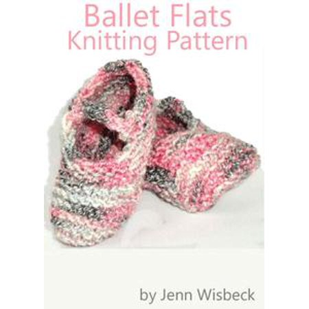 Ballet Knitting Patterns (Ballet Flats Baby Knitting Pattern -)