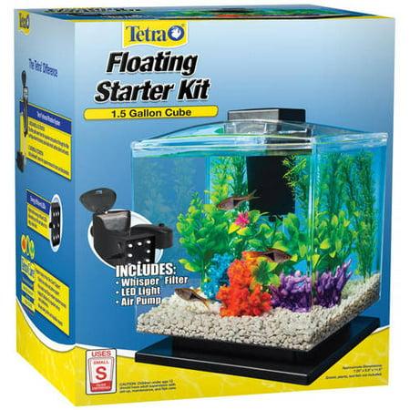 Tetra aquarium cube tank 1 5 gal for One gallon fish tank