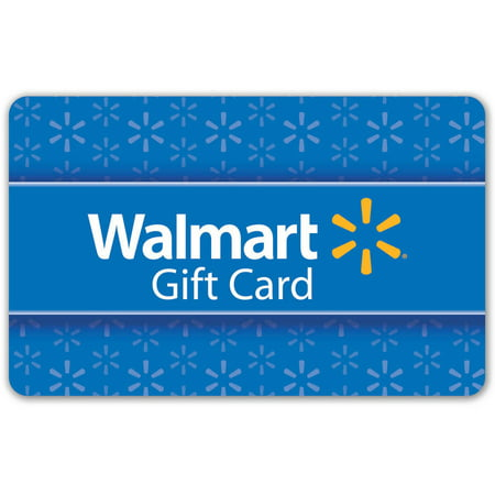 X65x Card - Basic Blue Walmart Gift Card