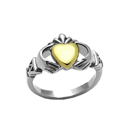 - The Knot Jewelry Claddaghring designer fashion Stainless Steel