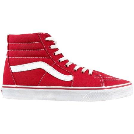 7707345398e9 Vans - Vans Men s Canvas SK8-Hi Shoes (Red White