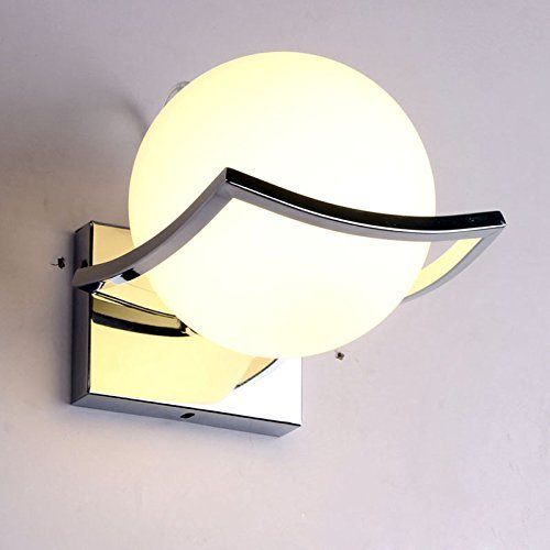 Goeco Mini Modern Wall Lamp Fixture Wall Light Sconce for Bedroom,Living Room and Hallway by LIVEDITOR LIGHTING