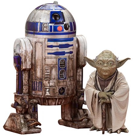 Star Wars: Yoda & R2-D2 Dagobah ARTFX+ Statue (2 Pack), The latest addition to the ARTFX+ statue line-up based on Star Wars characters By - Infant Yoda