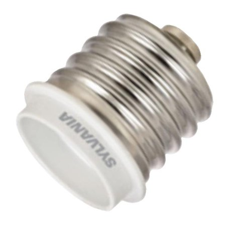 - Sylvania 75055 - Mogul Screw (E39) to Medium Screw (E26) Reducer (LED/ADAPTOR/MOGULBASE)