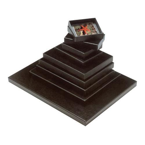 """Print File FB811, 8.5x11"""" Film and Print Archival Storage Box, Dimensions: 8-7/8x11-3/8x1-1/8"""" Deep, Black"""
