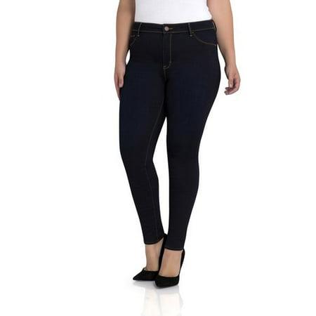 Jordache Plus Essential High Rise Super Skinny Jean