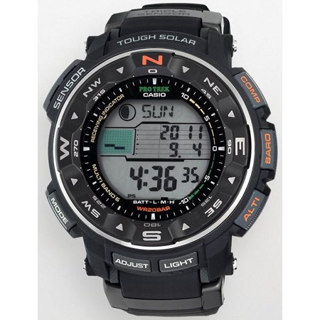 Casio Pro Trek Tough Solar Triple Sensor Atomic Mens Watch PRW2500R-1CR