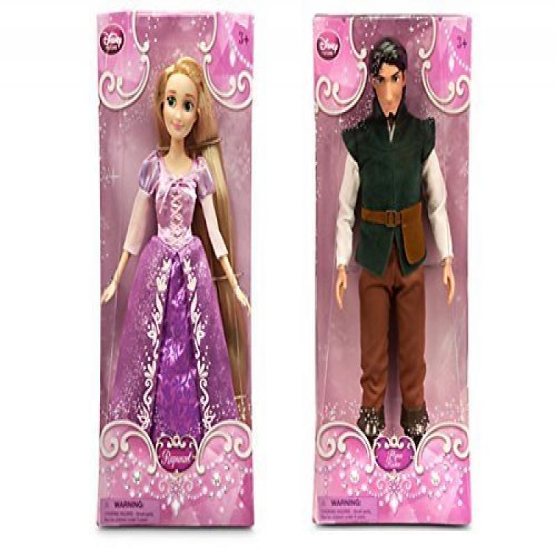"Disney Tangled 12"" Rapunzel and Flynn Rider by"