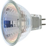 Satco 60W Equivalent Clear GU5.3 Base MR16 Halogen Floodlight Light Bulb S3463
