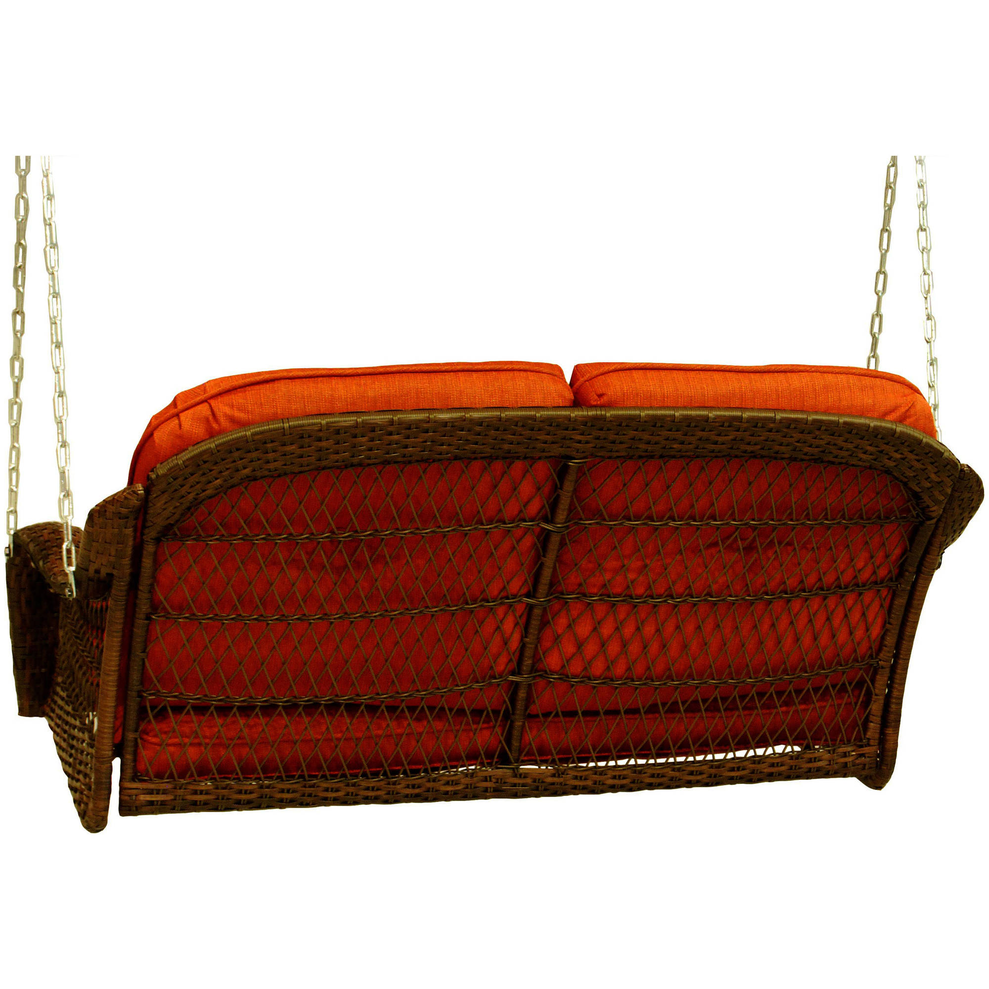 Better Homes and Garden Azalea Ridge 2-Person Outdoor Swing Cushions ...