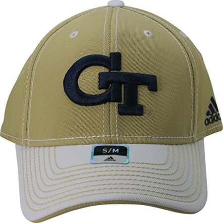 official photos 170dd fc9a2 NCAA Georgia Tech Yellow Jackets 3-D Logo 2 Tone Adult Flex Fit Cap Hat S M  - Walmart.com