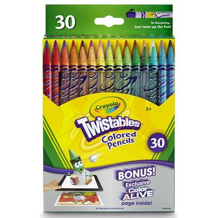 crayola 30 count twistable colored pencils - Crayola Pictures