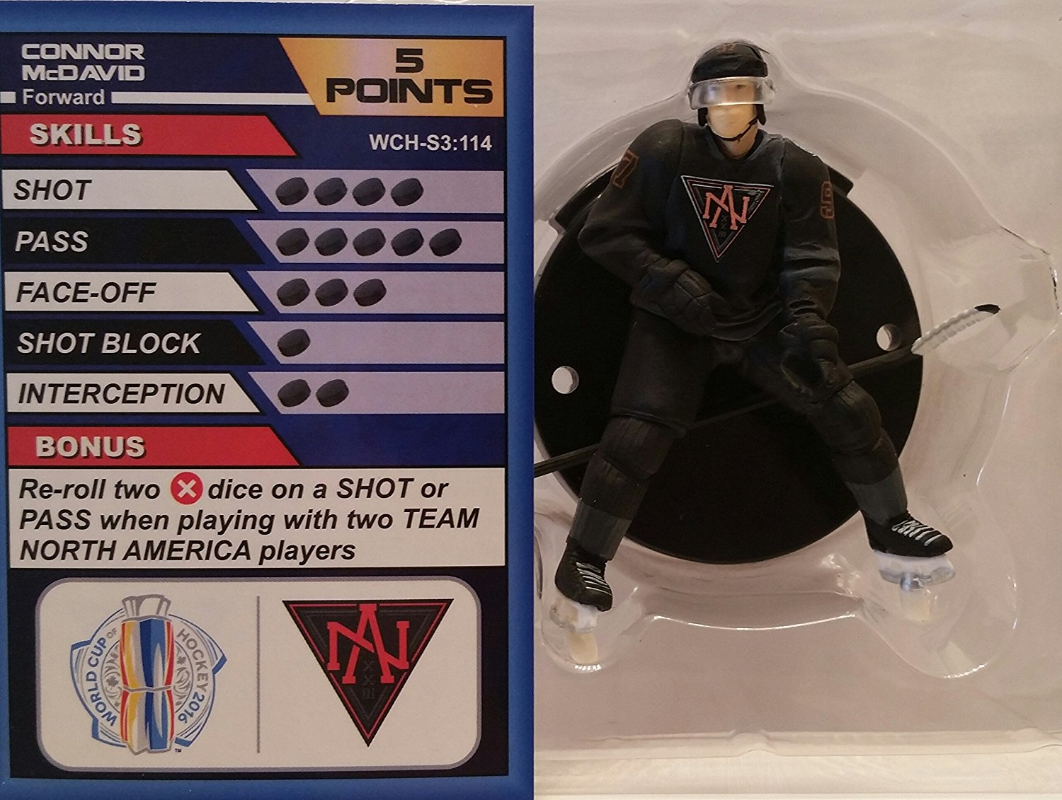 World Cup of Hockey Team North America Connor McDavid (Common) by