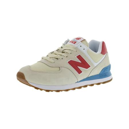 d2589cb19027 New Balance - New Balance Women s L574 Fla Ankle-High Leather Fashion  Sneaker - 11M - Walmart.com