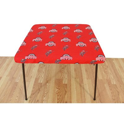 """College Covers Ohio State Buckeyes Card Table Cover 33"""" x 33"""" by Supplier Generic"""